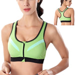 Sports Bra w/ Front Zipper