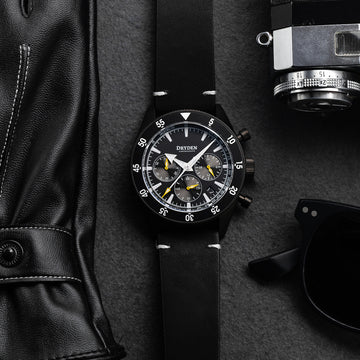 Dryden Chrono Diver Series 1 - PVD Yellow