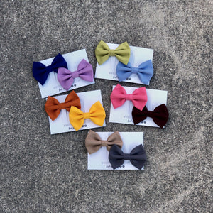 Solid Color Bow Bundles