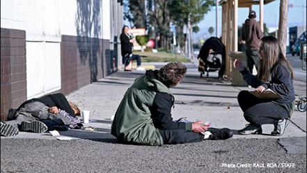 Volunteers fan out to document homeless during latest Point in Time count