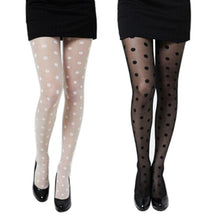 Load image into Gallery viewer, Polka Dot Stockings - The Lezbrarian