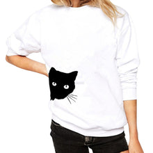 Load image into Gallery viewer, Peek a Boo! Long Sleeve Shirt - The Lezbrarian