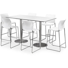 Counter Height Table for cafe or conference room