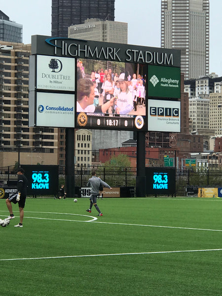 JAM and Kidsburgh Celebrate with Pittsburgh Riverhounds