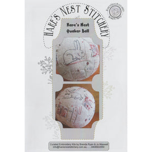Quaker Ball 'Hares Nest' Kit -  Hare's Nest Design