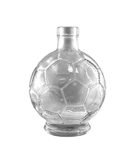 ilgusto glass football bottle
