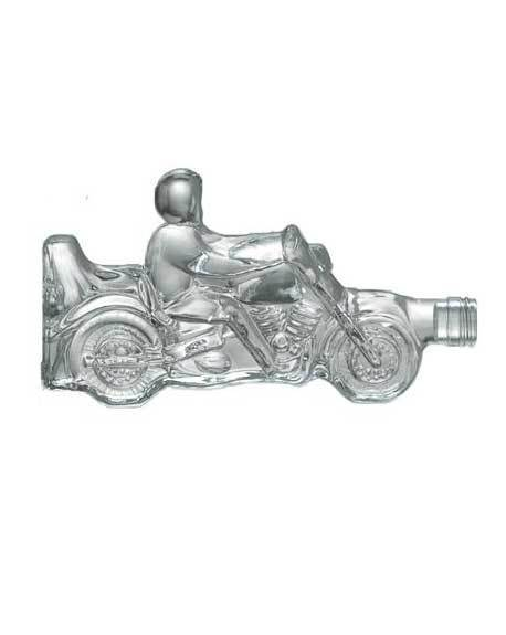 ilgusto glass motorbike bottle