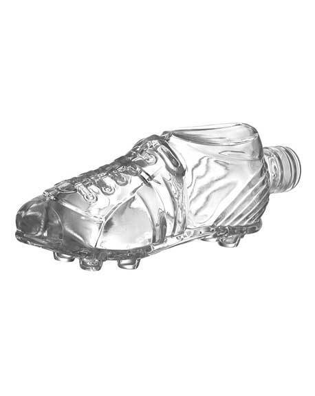 ilgusto glass football shoe bottle