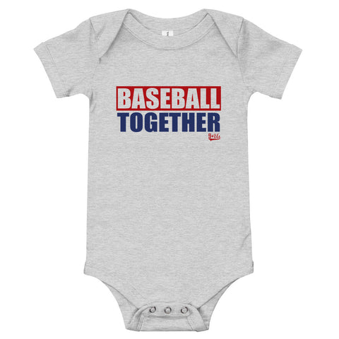 Baseball Together Onesie