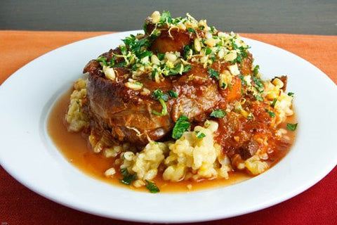 PURE PALEO  Braised Osso Buco and Vegetable Ragout