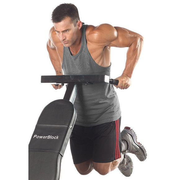 POWER BLOCK SPORT-BENCH DIP BAR ATTACHMENT