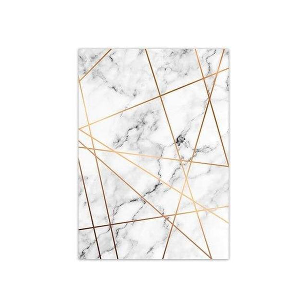 Gold on Marble - 20x30 cm (8x12 inches) / Across