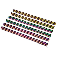 Cocktail Short Stainless Steel Straw Rainbow 120mm