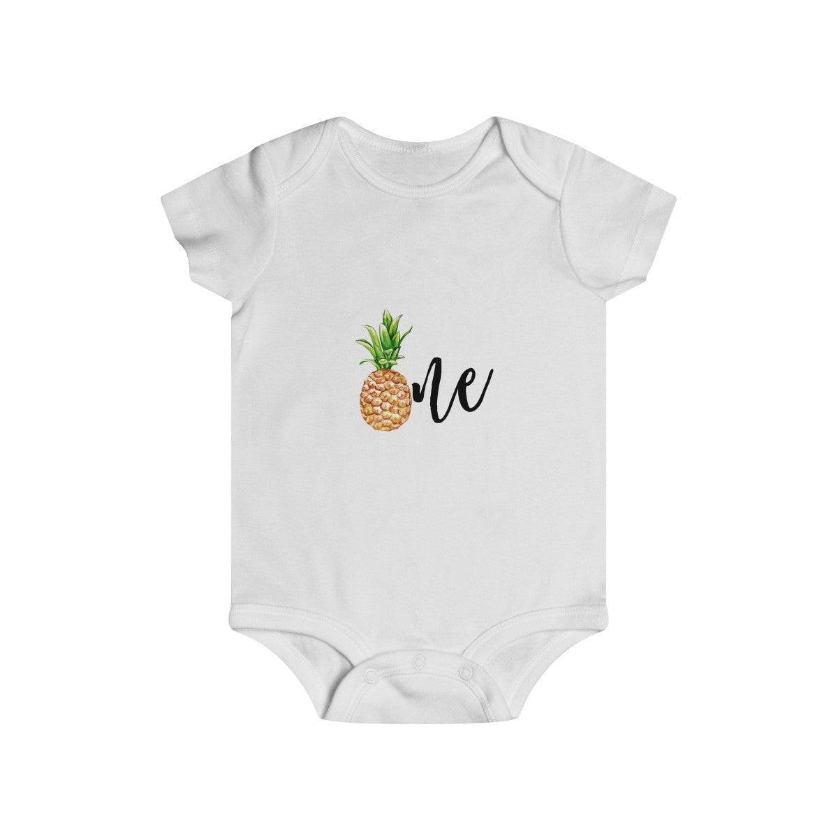 Pineapple Baby ONE bodysuit - Mermaids and Minis