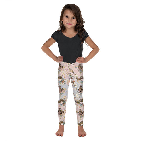 Fall Fairy Kid's Leggings - Mermaids and Minis