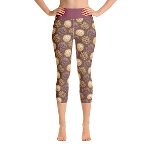 Fall Pie Yoga Capri Leggings - Mermaids and Minis