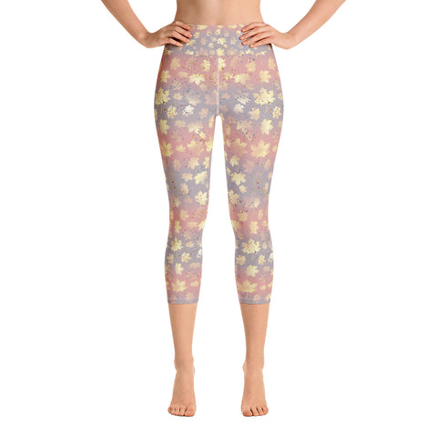 Autumn Magic Yoga Capri Leggings - Mermaids and Minis
