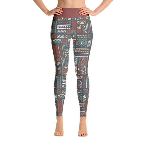 Fall | Aztec Yoga Leggings - Mermaids and Minis