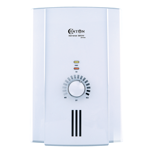 CENTON Serene Lite Instant Shower Water Heater | White