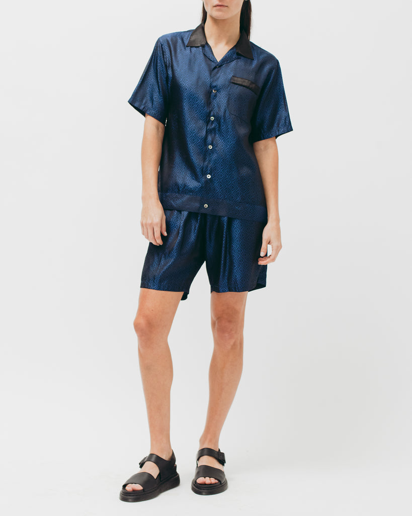 Tile S/S Shirt - Navy - [product _vendor]