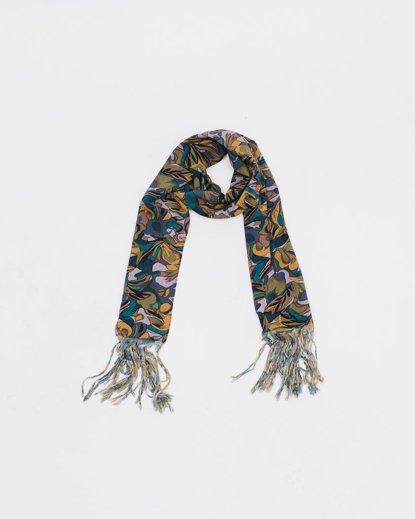 Tropical Rayon Oversized Scarf - Lavender - [product _vendor]