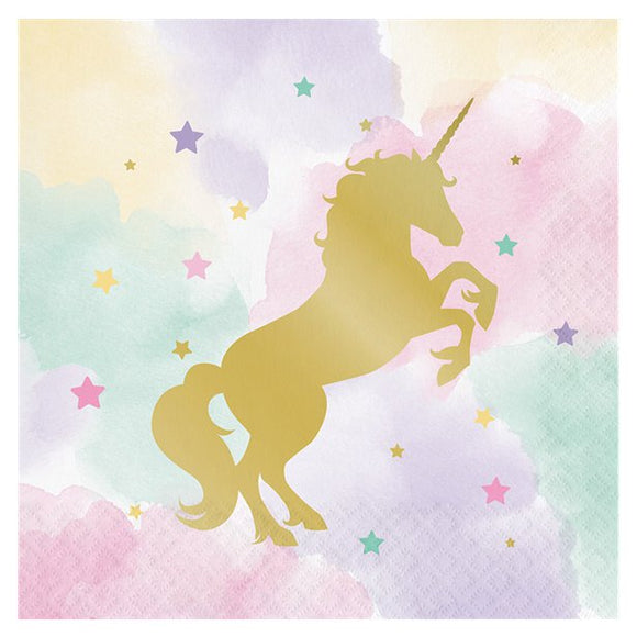 Unicorn Sparkle Napkins - Creative Party