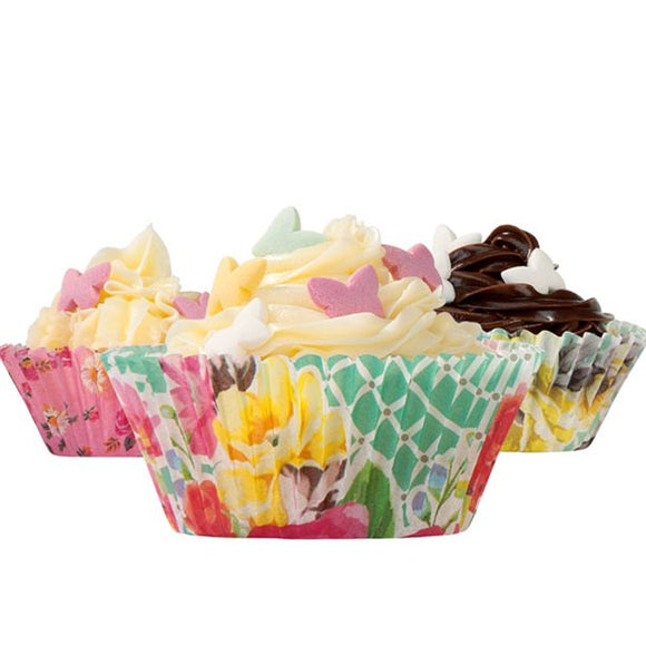 Truly Scrumptious Vintage Cupcake Cases - Talking Tables