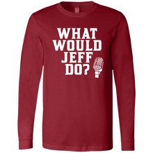 Load image into Gallery viewer, What Would Jeff Do - Mens Long-sleeve Tee