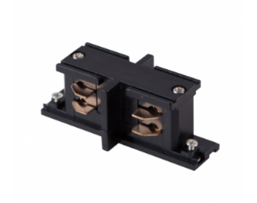 4 WIRE SURFACE MINI IN‐LINE TRACK JOINER, BLACK - LEDLIGHTMELBOURNE