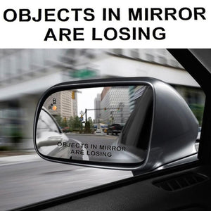 Objects In Mirror Are Losing Sticker