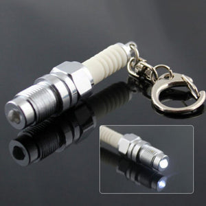 Spark Plug Keychain (with LED torch) Parts