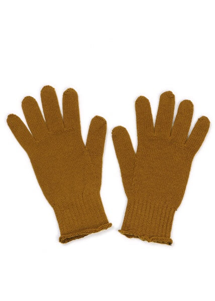 Jasmine Jersey Glove- Merino Wool- Brass/Army/Oatmeal/Butterscotch/Blackcurrant