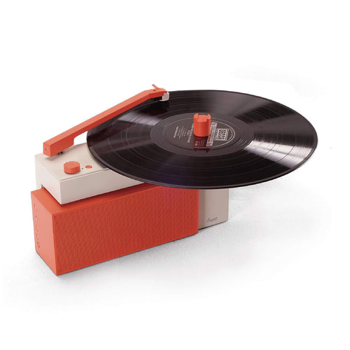 HYM Duo Bluetooth Turntable With Detachable&Rechargeable Speaker - arylic
