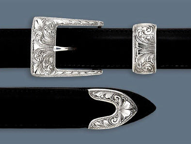 "Clint Orms 1"" TAYLOR 1824 Belt Buckle Set"