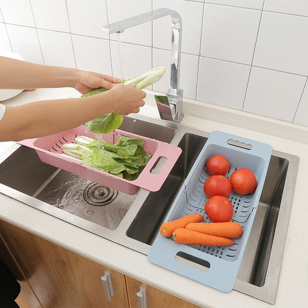 Over Sink Dish Rack Food Grade Sink Rack Dish Drainer Kitchen Organizer Dish Rack Drainer Tableware Dryer
