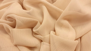 Crinkled Polyester Chiffon