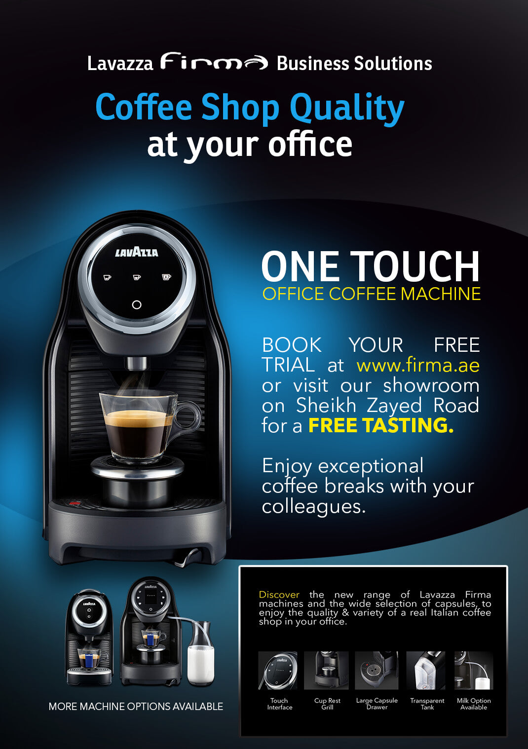Lavazza Firma Office Coffee Machine
