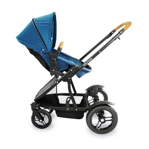Babyhood Doppio Inline Multi-Mode Pram - Teal