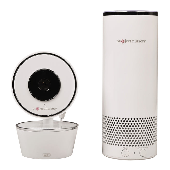 Project Nursery Video Camera With Amazon Alexa Unit