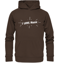 Laden Sie das Bild in den Galerie-Viewer, I love Music-Premium Unisex Hoodie