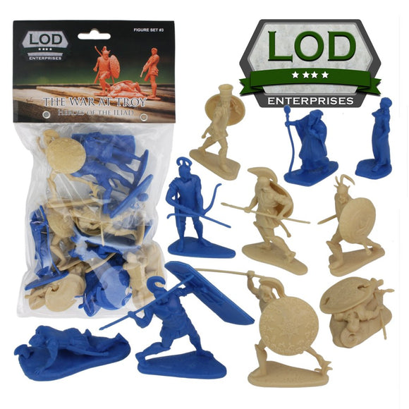 LOD War at Troy Set 3 Heroes of Illiad