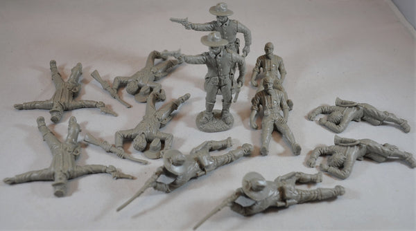 TSSD Dismounted Cavalry with Casualties Gray Set #17C