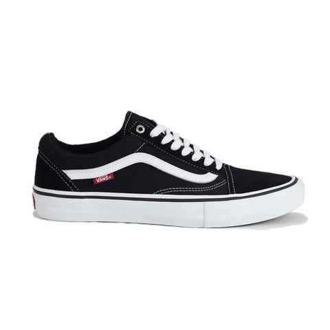 Vans Old Skool Pro Shoe - Black/White