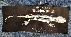 Lizard Skeleton Dublin Patch