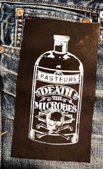 Death Microbes Bottle Patch
