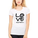 Love Football - Ladies' Tees