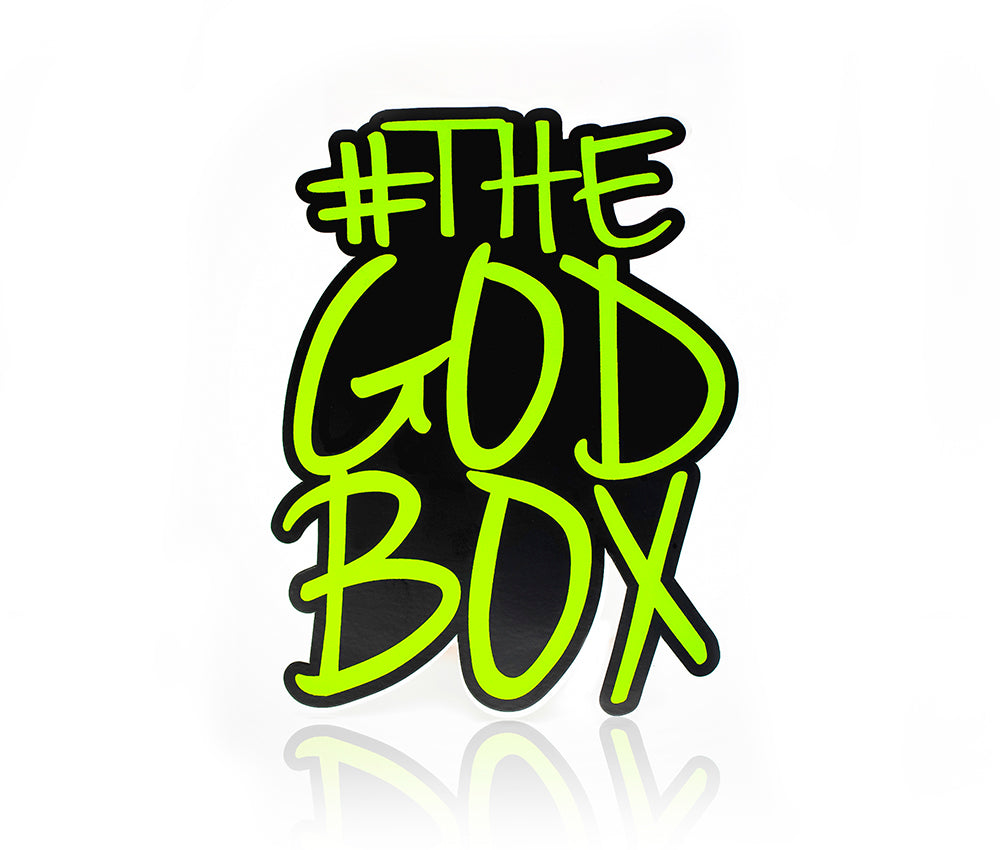 The God Box/Black Fist Stickers (set of 2)