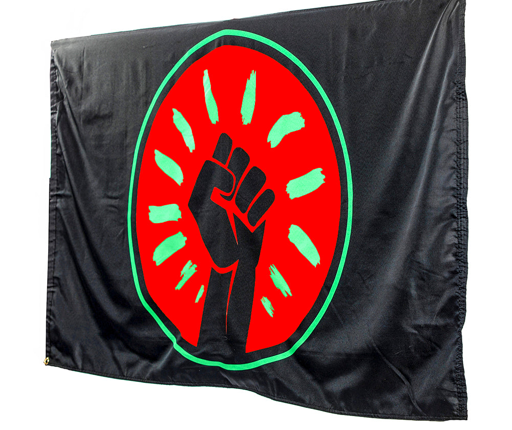 Official Black Fist Flag
