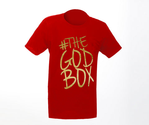 The God Box T-shirt, Red