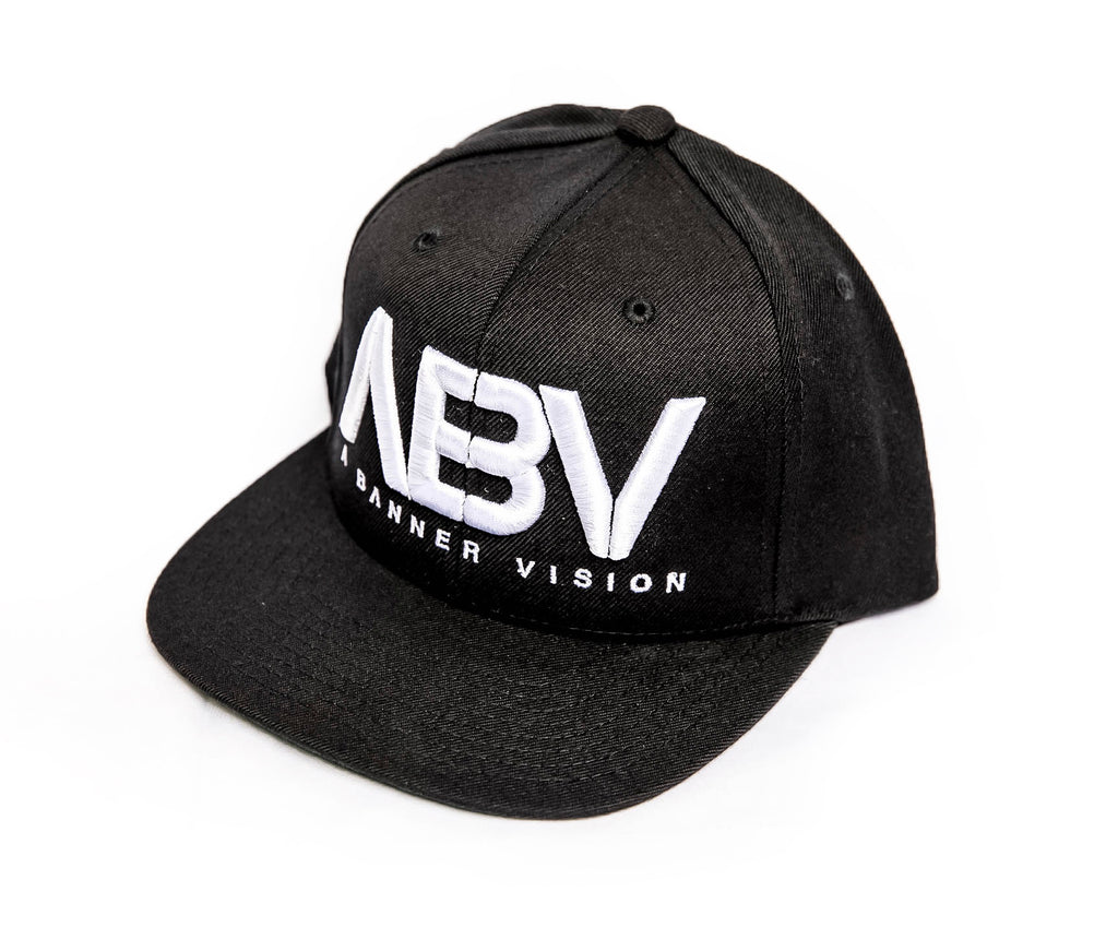 ABV Hat in Red/Black or White/Black